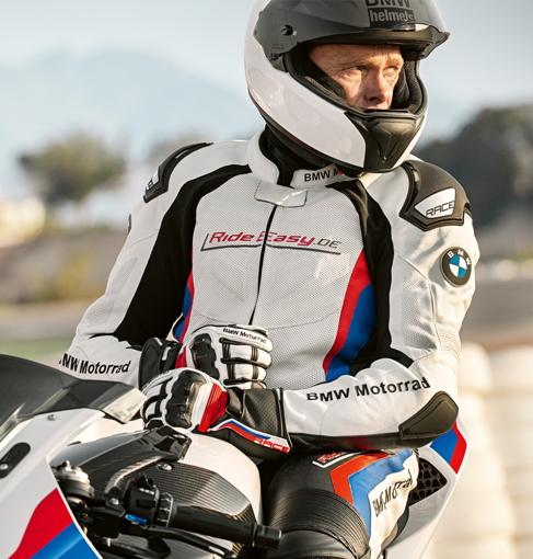 La gamma di equipaggiamenti Moto BMW Motorrad
